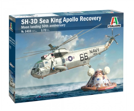 "carson 1:72 SH-3 Sea King ""APOLLO""RECOVERY"""