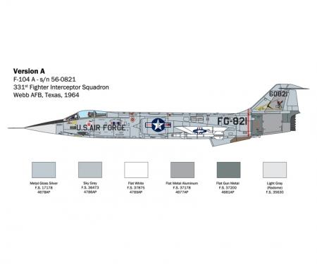 """carson 1:32 F-104 A/C """"Starfighter"""""""