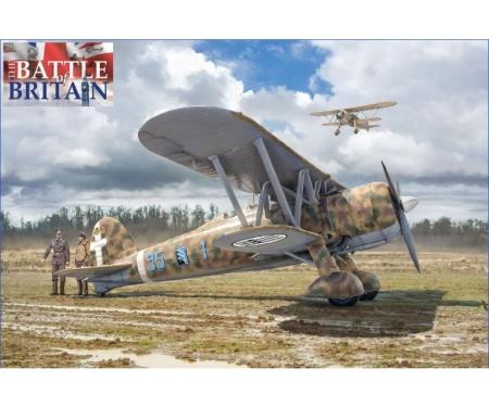 """carson 1:48 FiatCR.42""""Battle of Britain 80thA."""""""