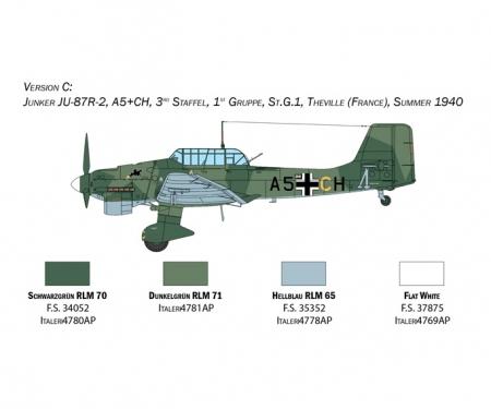 carson 1:48 Junkers JU-87B Stuka Bat.o.Brit.