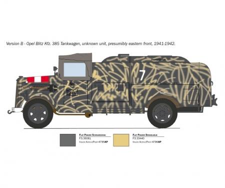 carson 1:48 Sd.Kfz.385 Tankwagen Bat.o.Brit.