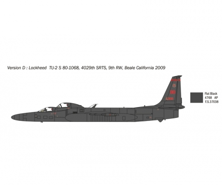 carson 1:48 Lockheed TR-1A/B