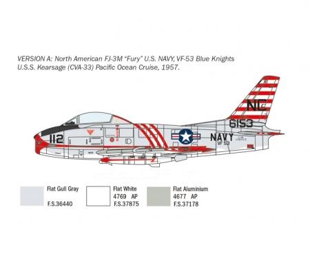 carson 1:48 North American FJ-2/3 Fury