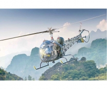 carson 1:48 OH-13 Scout Helicopter Korea War