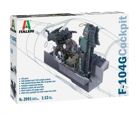 carson 1:12 F-104G Cockpit
