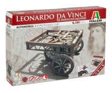"carson ITALERI ""Leonardo Da Vinci"" Automobile SELF-PROPELLING CART"