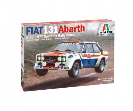 carson 1:24 Fiat 131 Abarth'77 SanRemo RallyWin