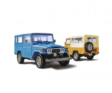 carson 1:24 Toyota BJ-44 LandCruiser So./Ha.Top