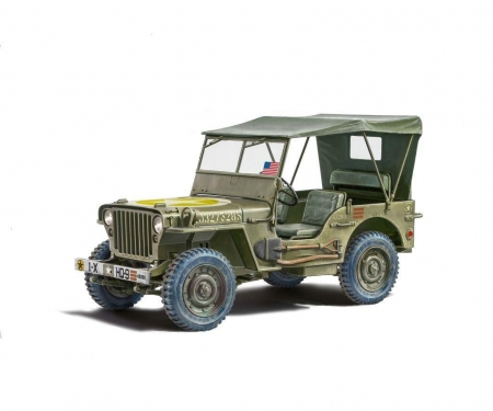 carson 1:24 Jeep Willys MB 80th Anniversary