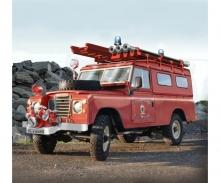 carson 1:24 Land Rover Fire Truck