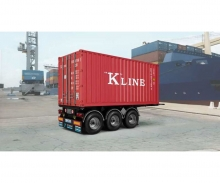 1:24 20' Container Trailer
