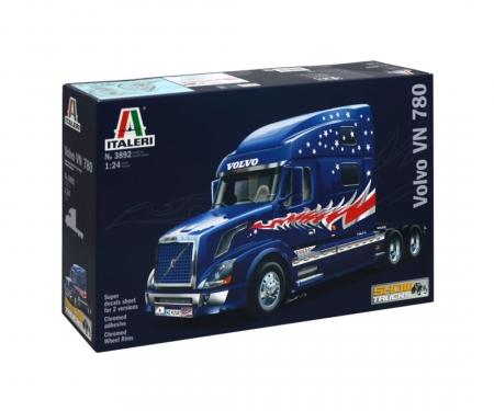carson 1:24 Volvo VN 780 Tractor Truck 3Axle