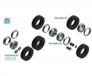 carson 1:24 European Tractors TYRES and RIMS