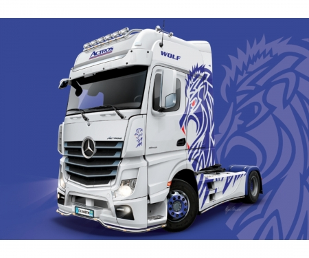 1 24 m b actros mp4 show gigaspace trucks auflieger. Black Bedroom Furniture Sets. Home Design Ideas