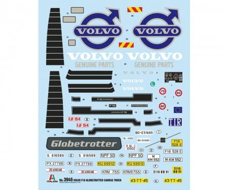 carson 1:24 Volvo F16 Plane m. Hebebühne