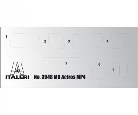 carson 1:24 Mercedes-Benz MP4 Big Space