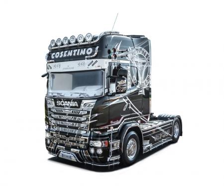 carson 1:24 SCANIA R730 Streamline Show Truck