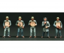 1:35 Figure-Set  Schnellboot Crew (10)