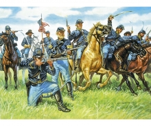 carson 1:72 Union Cavalry 1863 The blue jackets