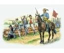 "carson 1:72 Confederate Troops ""The Grays"""