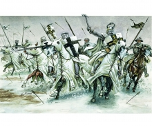 carson 1:72 Teutonic Knights XIIth-XIIIth cent.