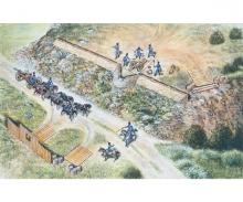 carson 1:72 Französisches Artillerie-Set
