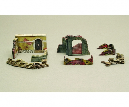 carson 1:72 Walls and ruins II