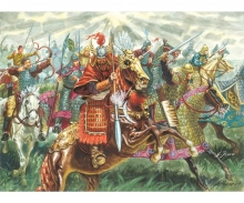 1:72 Chinese Cavalry - XIIIth Century