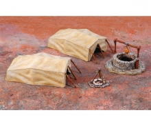 carson 1:72 Desert Well and Tents