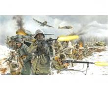 carson 1:72 Fig.-Set  Ger. Infantry (Winter)