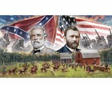 carson 1:72 American Civil War:Farmhouse battle