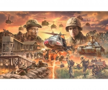 carson 1:72 Battle-Set Vietnam War