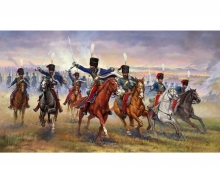 carson 1:72 British 11th Hussars (Crimean war)