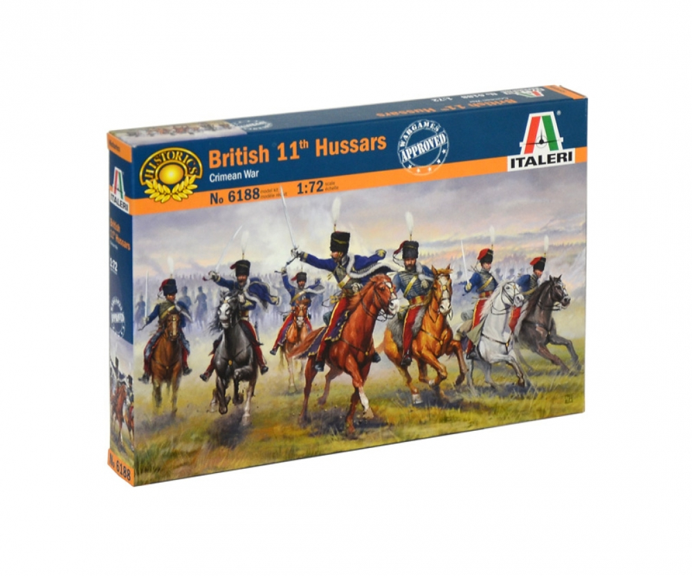 rcecho/® ITALERI Military Model 1//72 Crimean War 1854 British Hussars Hobby 6052 T6052 with 174; Full Version Apps Edition