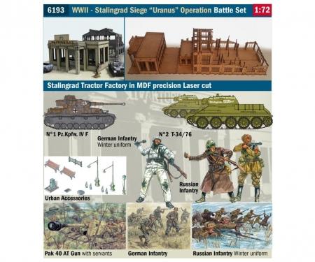carson 1:72 WWII Battle Set Stalingrad Siege