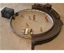 carson 1:72 Gladiatorenkampf m. Arena