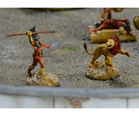 carson 1:72 Gladiators Fight Ludus Gladiatorius