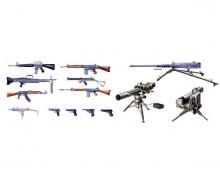 1:35 Militär-Set Moderne Waffen