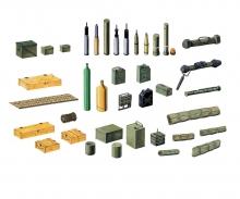 carson 1:35 Zubehör-Set Militär Modern