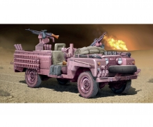 "carson 1:35 S.A.S. Recon Vehicle ""PINK PANTHER"""