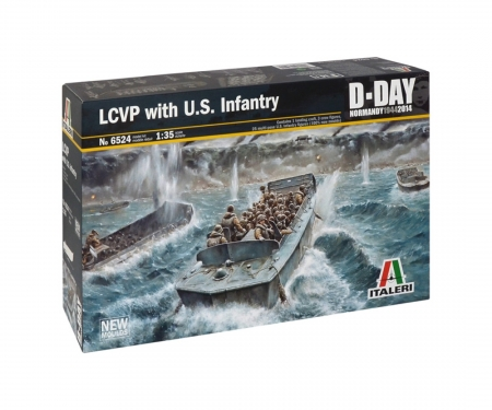 carson 1:35 LCVP with US Infantry