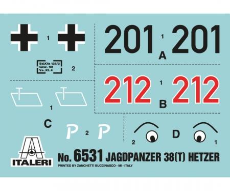 carson 1:35 Jagdpanzer 38 (t) HETZER