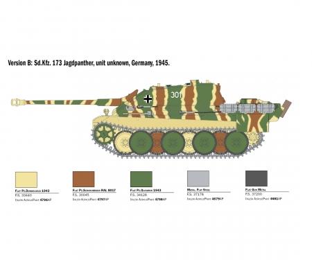 1:35 Sd.Kfz.173 Jagdpanther+winter crew