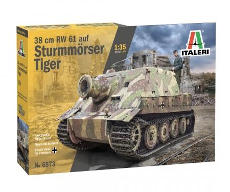 carson 1:35 38cm RW 61 auf Sturmmöser Tiger
