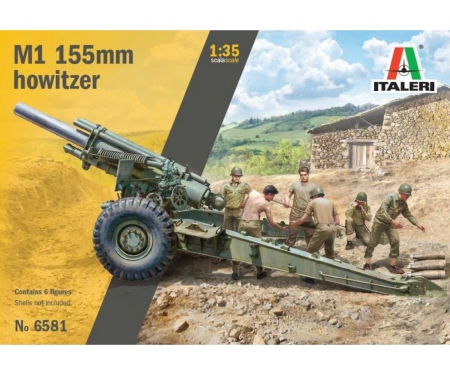 carson 1:35 M1 155mm Howitzer with crew
