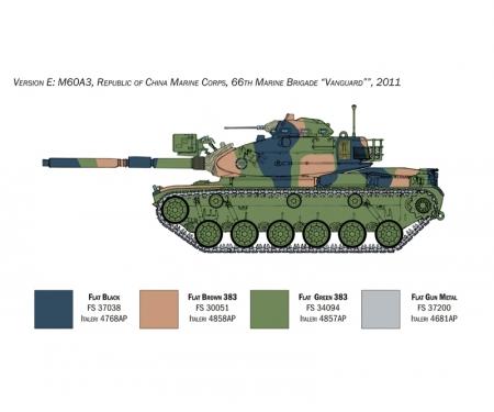 carson 1:35 M60A-3