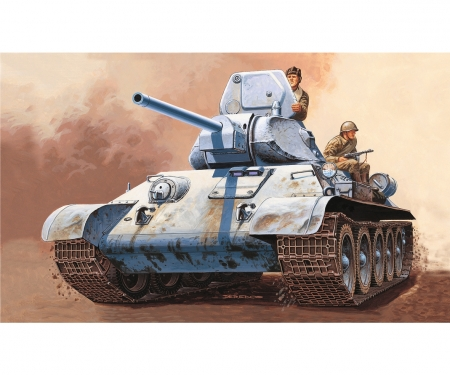 carson 1:72 T 34/76 Russian Tank