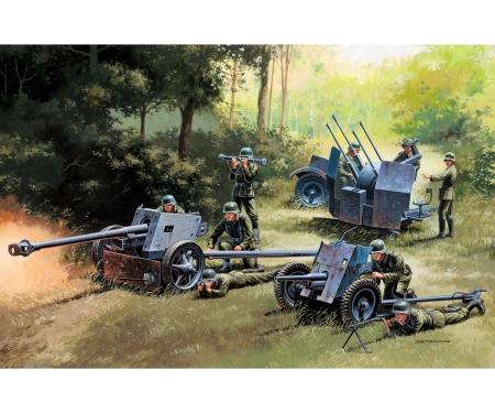 carson 1:72 German Guns Set: PAK35-PAK40-FLAK38