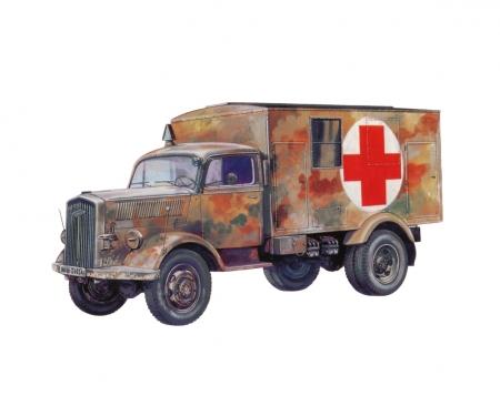 carson 1:72 Sd.Kfz.305 Ambulance