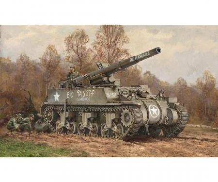1:72 US M12 GMC Howitzer